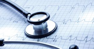 ECG heart rate chart