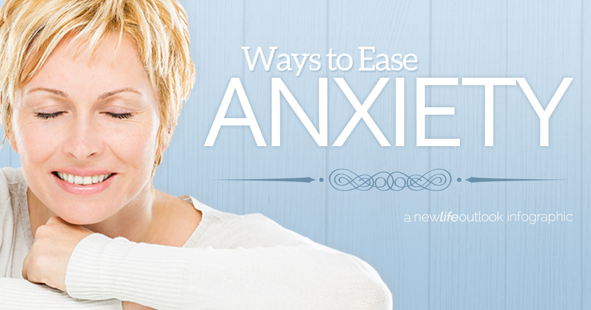 RA and Anxiety Infographic: New Life Outlook  Infographic