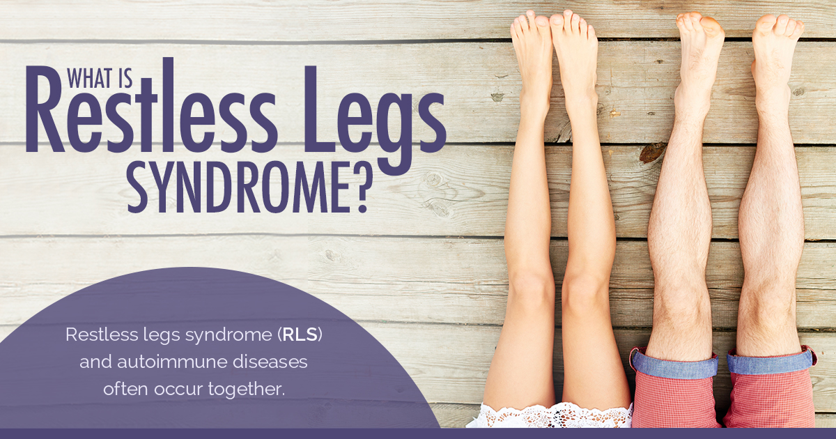 Restless Legs Syndrome and Rheumatoid Arthritis: New Life Outlook Rheumatoid Arthritis Infographic
