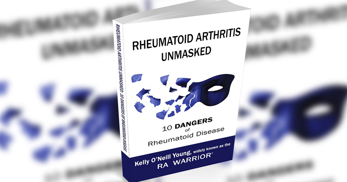 "Book titled ""Rheumatoid Arthritis Unmasked"""